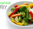 142 - Lunch - Mixed vegetable stirfry