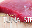 144 - Dinner - Herbed and Spiced Ahi Tuna Steak