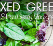 146 - Lunch - Mixed Greens with Strawberry Vinaigrette