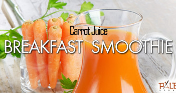 153 - Breakfast - Carrot Juice Breakfast Smoothie