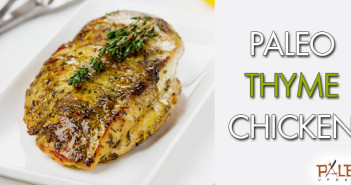 163 - Dinner - Paleo Thyme Chicken