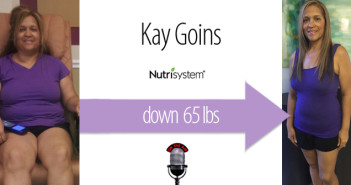 Episode #050: Kay Goins – Down 65 lbs with Nutrisystem