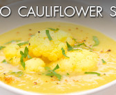 Paleo Cauliflower Soup