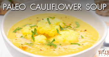 172 - Lunch - Paleo Cauliflower Soup