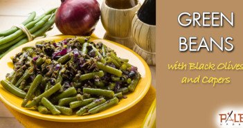 175 - Lunch - Green Beans with Black Olives and Capers