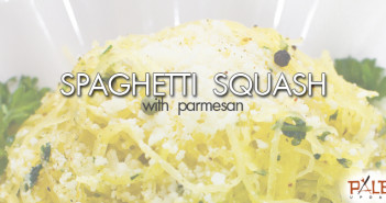 176 - Dinner - Spaghetti Squash With Parmesan